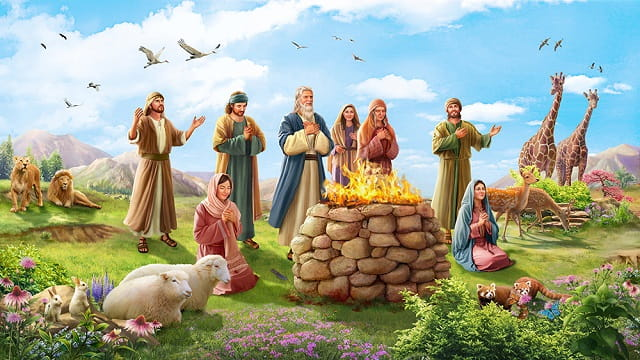 PATHIAN VUALZAWLNA God blessed Noah and his sons  Home New God blessed Noah and his sons