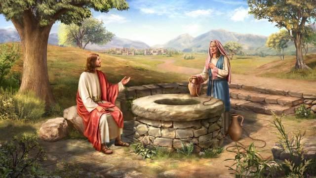 JESU LEH SAMARI NUMEI APAN SINLAI Samaritan Woman  Home New Samaritan Woman